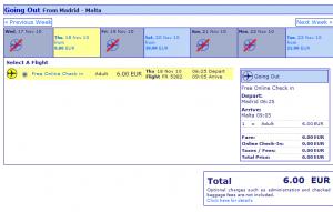 Евтини самолетни билети до Малта