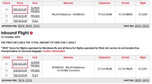 Евтини самолетни билети до Момбаса