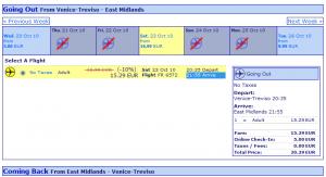 Евтини самолетни билети до Ист Мидландс