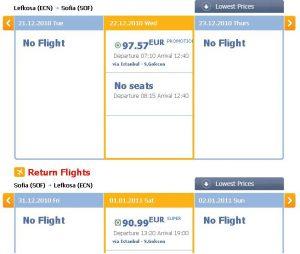 Евтини полети от Кипър (Лефкоза)