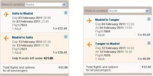 Евтини самолетни полети до Танжер, Мароко