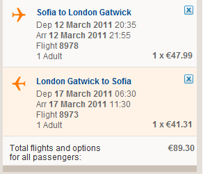 Евтини самолетни билети до Лондон