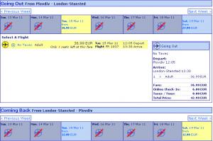 Евтини самолетни билети до Лондон от Пловдив