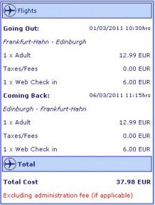 Евтини самолетни билети до Единбург, Шотландия
