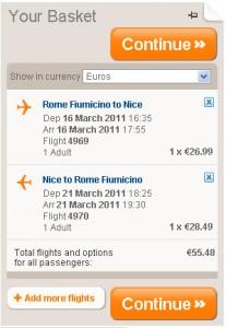 Евтини самолетни билети до Ница, Франция