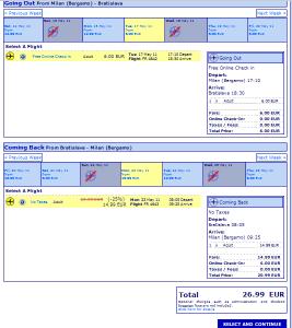 Евтини самолетни билети до Братислава