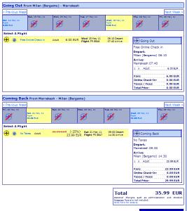 Евтини самолетни билети до Маракеш