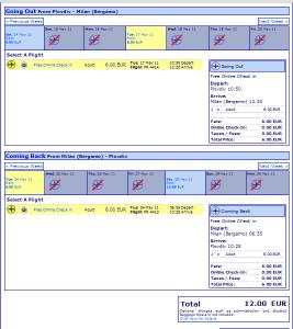 Евтини самолетни билети от Пловдив до Милано