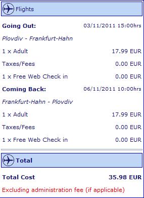 Евтини самолетни билети до Германия от Пловдив