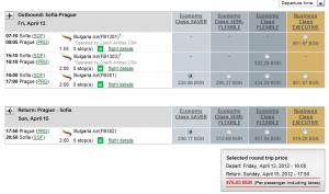 Евтини самолетни билети до Прага